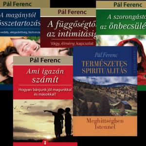 Pál Ferenc kötetek